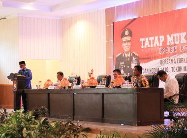 Kapolda SulSel yang baru dilantik berkunjung ke Bantaeng, pertama dari 24 Kabupaten/Kota di SulSel.