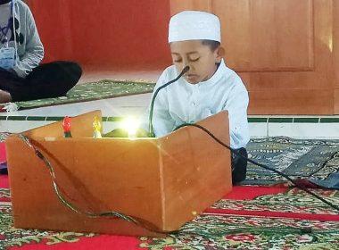 Peserta Termuda STQH VII Bantaeng berusia 8 tahun.