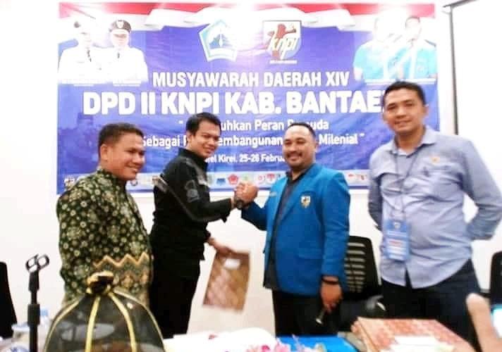 Terpilih Muhammad Lutfi Yahya sebagai Ketua KNPI Bantaeng hasil Musda XIV (26/02/2019).