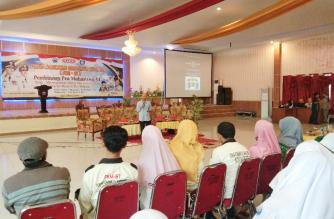Pembinaan Pra Mahasiswa VI oleh FKM-BT diikuti 500 pelajar SMA se-Kabupaten Bantaeng (24/02/2019).