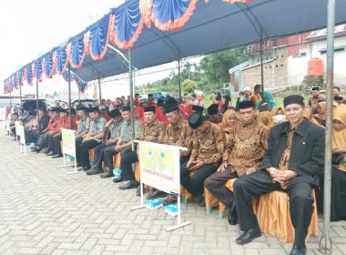 STQH VII Tingkat Kabupaten Bantaeng diikuti 8 Kecamatan termasuk Pa'jukukang (24/02/2019).