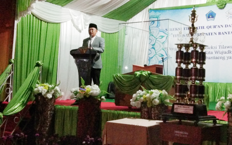 Penutupan STQH VII Bantaeng, Kecamatan Tompobulu keluar sebagai Juara umum I (25/02/2019).