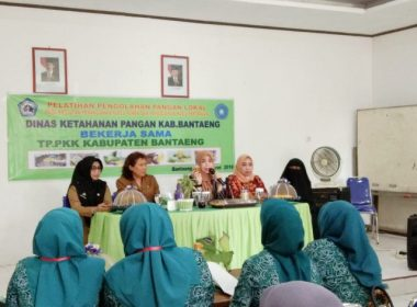 Pelatihan Pengolahan Pangan Lokal diikuti 25 Ibu-ibu se-Kabupaten Bantaeng.