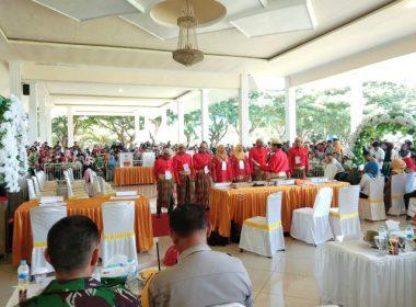 KPU Bantaeng menggelar Simulasi Pemungutan dan Penghitungan Suara Pemilu 2019.