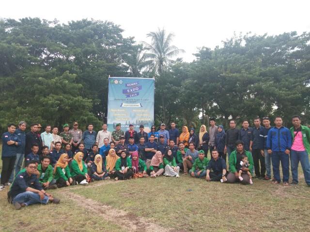 Puluhan Anggota Karang Taruna se-Kecamatan Bissappu ikuti Kemah EXPO 2019.