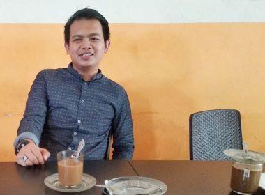 Muhammad Lutfi Yahya, Ketua KNPI Terpilih untuk DPD Kabupaten Bantaeng (04/03/2019).