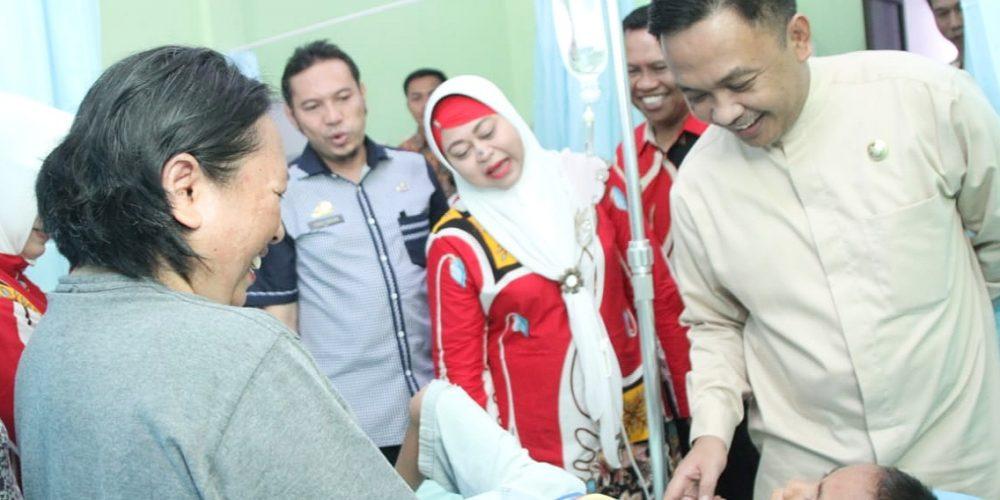 Peresmian Puskesmas Kota dan Puskesmas Ulugalung Bantaeng (08/03/2019).