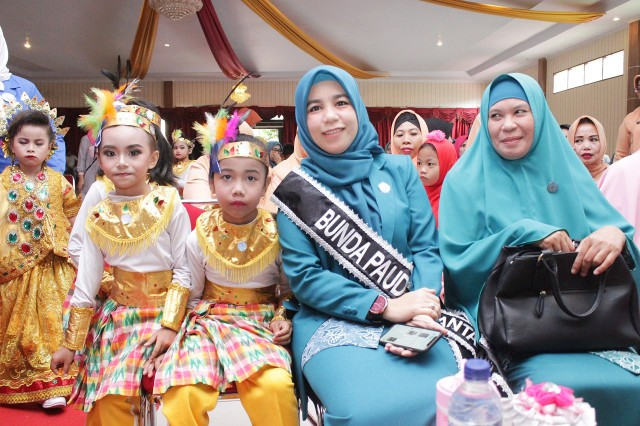 Bunda PAUD Kabupaten Bantaeng dijabat Hj Sri Dewi Yanti.
