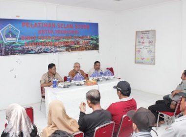Sebanyak 30 orang nelayan di Bantaeng mengikuti Pelatihan Selam Scuba.