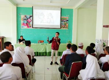 FABT menggelar Pra Musrenbang Anak di Gedung PGRI Bantaeng (05/03/2019).