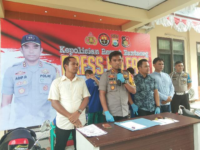 Press Release Kapolres Bantaeng terkait pembusuran warga Bantaeng dan mengakibatkan korban meninggal dunia (15/03/2019).