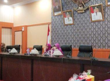 Rakor PKK bulan April 2019 di Ruang Pola Kantor Bupati Bantaeng.