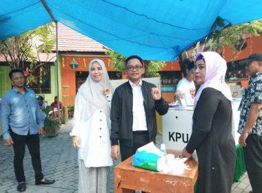 Pemungutan Suara di TPS 03 Kelurahan Pallantikang, Bantaeng.