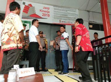 Kunjungan Bupati Bantaeng di TPS 16 Rutan Klas IIB Bantaeng.