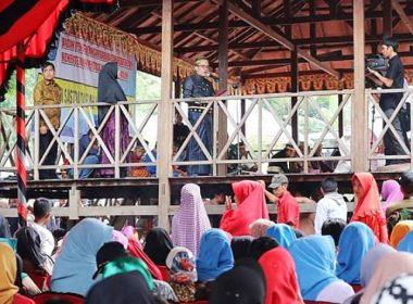 Pesta Adat Gantarang Keke tahun 2019 di Bantaeng.