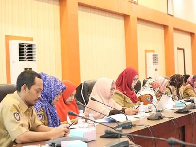 Rapat Monev Triwulan I APBD 2019.