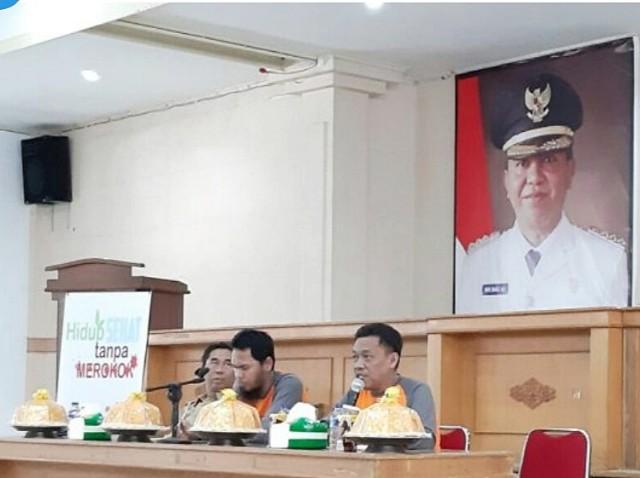 Sosialisasi Perda KTR oleh Pemkab Selayar.