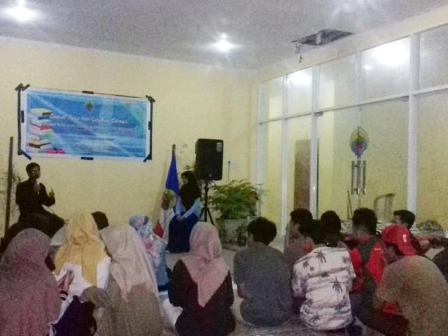 Lapak Baca dibuka Pengurus Aspuri HPMB di Makassar.