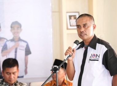 Pelantikan DPD JOIN Bantaeng masa bakti 2019-2022.