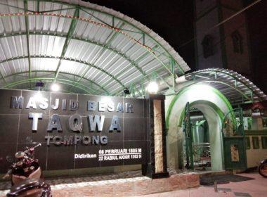 Masjid Besar Taqwa Tompong tertua kedua di SulSel.