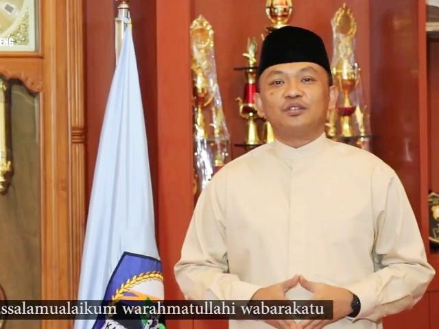 Ucapan Selamat Berpuasa oleh Ilham Azikin.