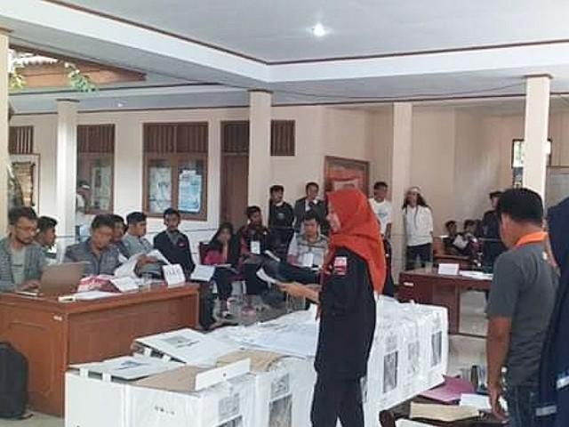 Rekapitulasi Suara Pemilu 2019 tingkat Kecamatan Bantaeng.