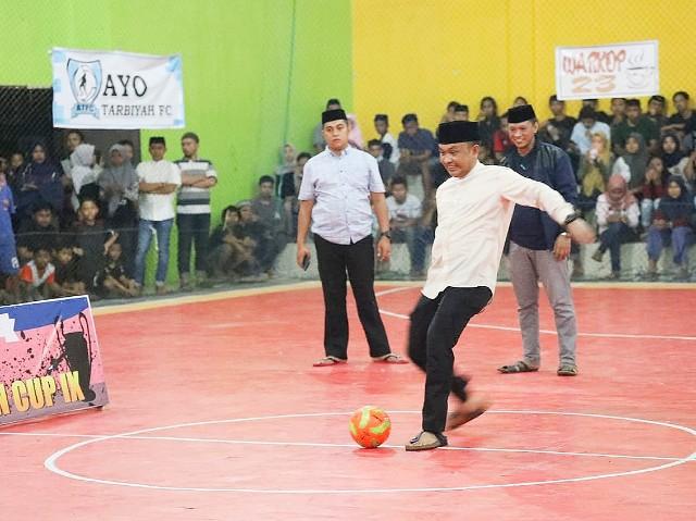 Pembukaan Turnamen Futsal Liga Ramadhan Cup IX.