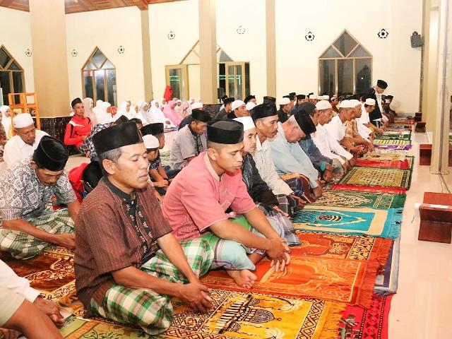 Safari Ramadhan Kecamatan Sinoa.