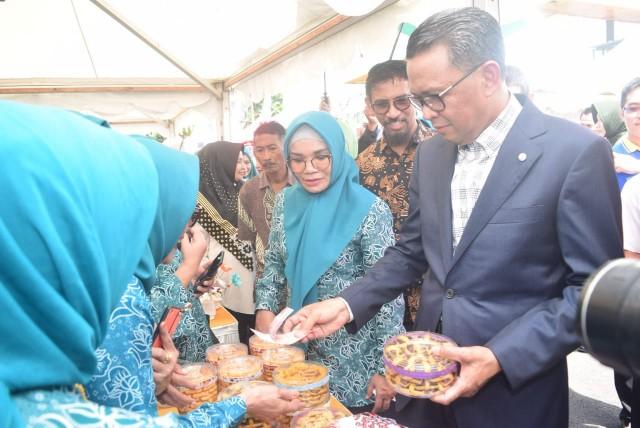 Pembukaan Pasar Murah Ramadhan.