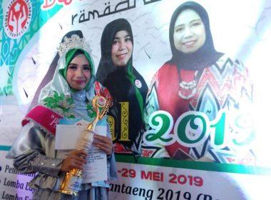 Lomba Pemilihan Puteri Muslimah Bantaeng 2019.