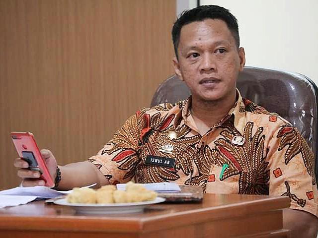 Kabag Humas Bantaeng lakukan briefing.