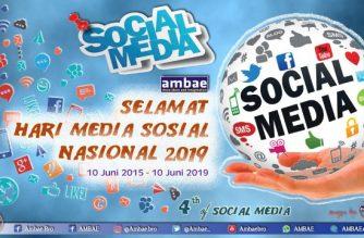 Hari Media Sosial Nasional ke-4 tahun.