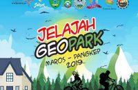Pendaftaran Jelajah Geopark Maros-Pangkep.