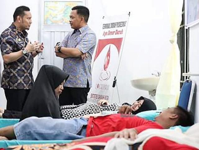 Pemantauan Terminal Darah Puskesmas Kota.