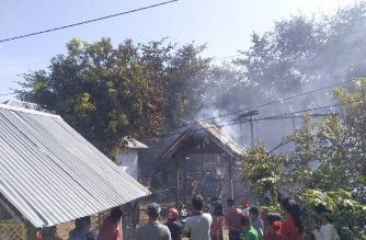 Kebakaran di Mangngarabbe Bantaeng.