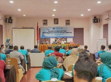 Pelatihan Tata Kelola Wisata Dispar Bantaeng.