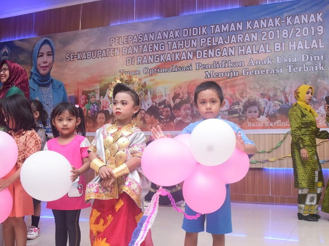Pelepasan Anak PAUD se-Kabupaten Bantaeng.