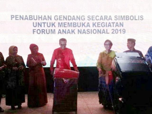 Pembukaan Forum Anak Nasional 2019.
