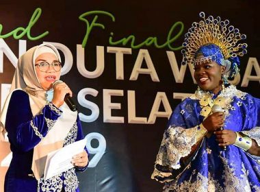 Malam Grand Final Pemilihan Duta Wisata SulSel 2019.