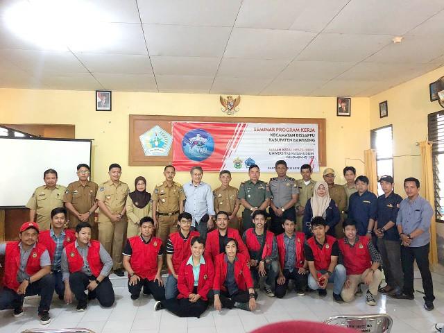 Seminar Program Kerja tingkat Kecamatan KKN UNHAS.
