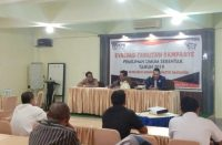 Kegiatan Evaluasi Fasilitasi Kampanye KPU Bantaeng.