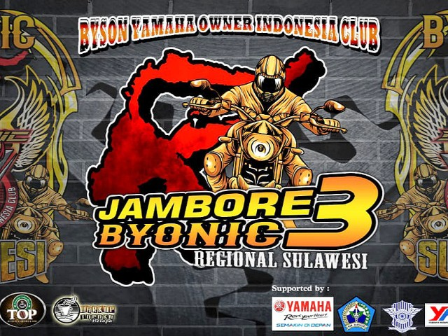 Event Jambore 3 BYONIC Sulawesi.