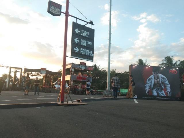 Pusat keramaian malam minggu di Bantaeng.
