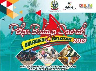 Persiapan Pekan Budaya Daerah SulSel 2019.