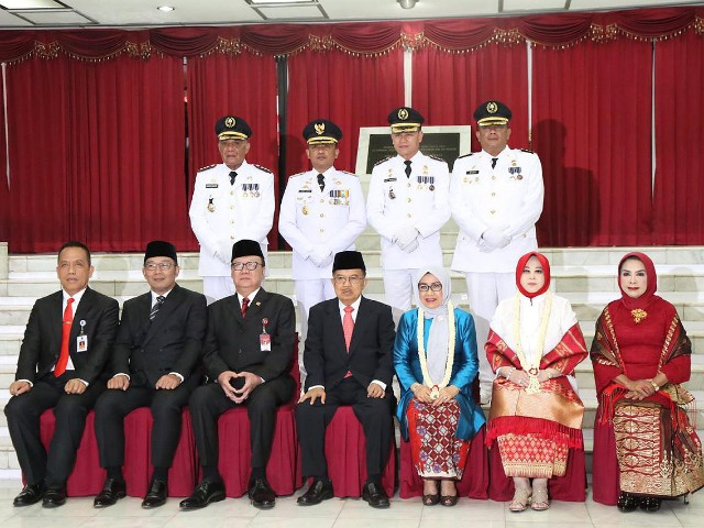 Praja IPDN dilantik.