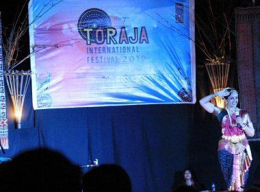 Seremonial pembukaan Toraja International Festival 2019.