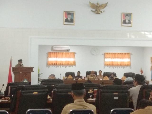 Rapat Perubahan APBD Bantaeng 2019.