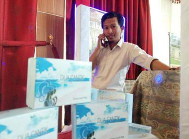 Produk sabun di Perpustakan EXPO Bantaeng.