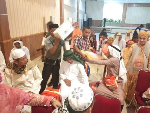 Penjemputan jama'ah haji Bantaeng.