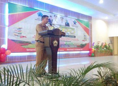 Satu kecamatan abstain di Perpustakan EXPO Bantaeng.